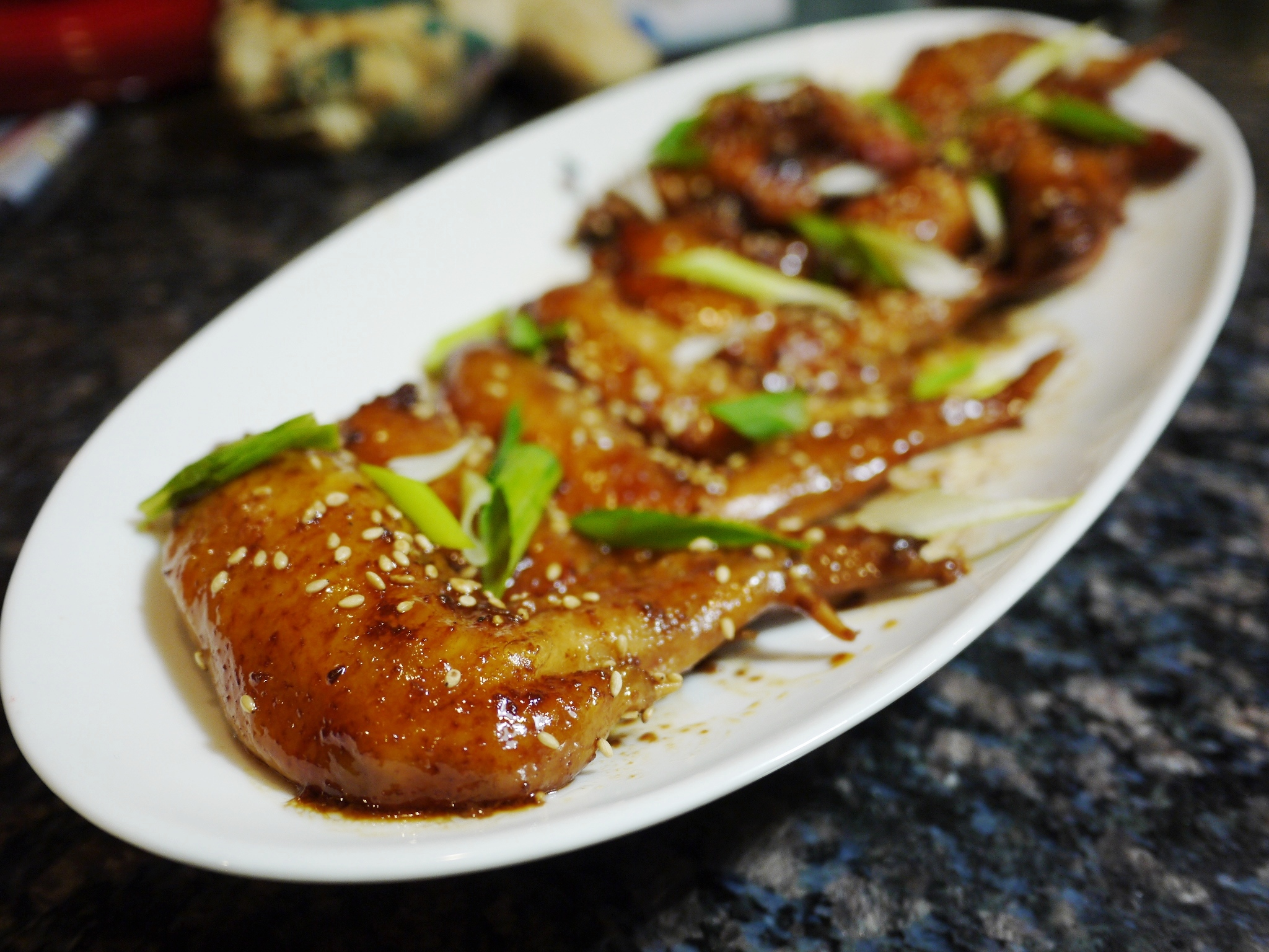 Slow and easy chinese style honey glazed chicken wings forumfinder Gallery