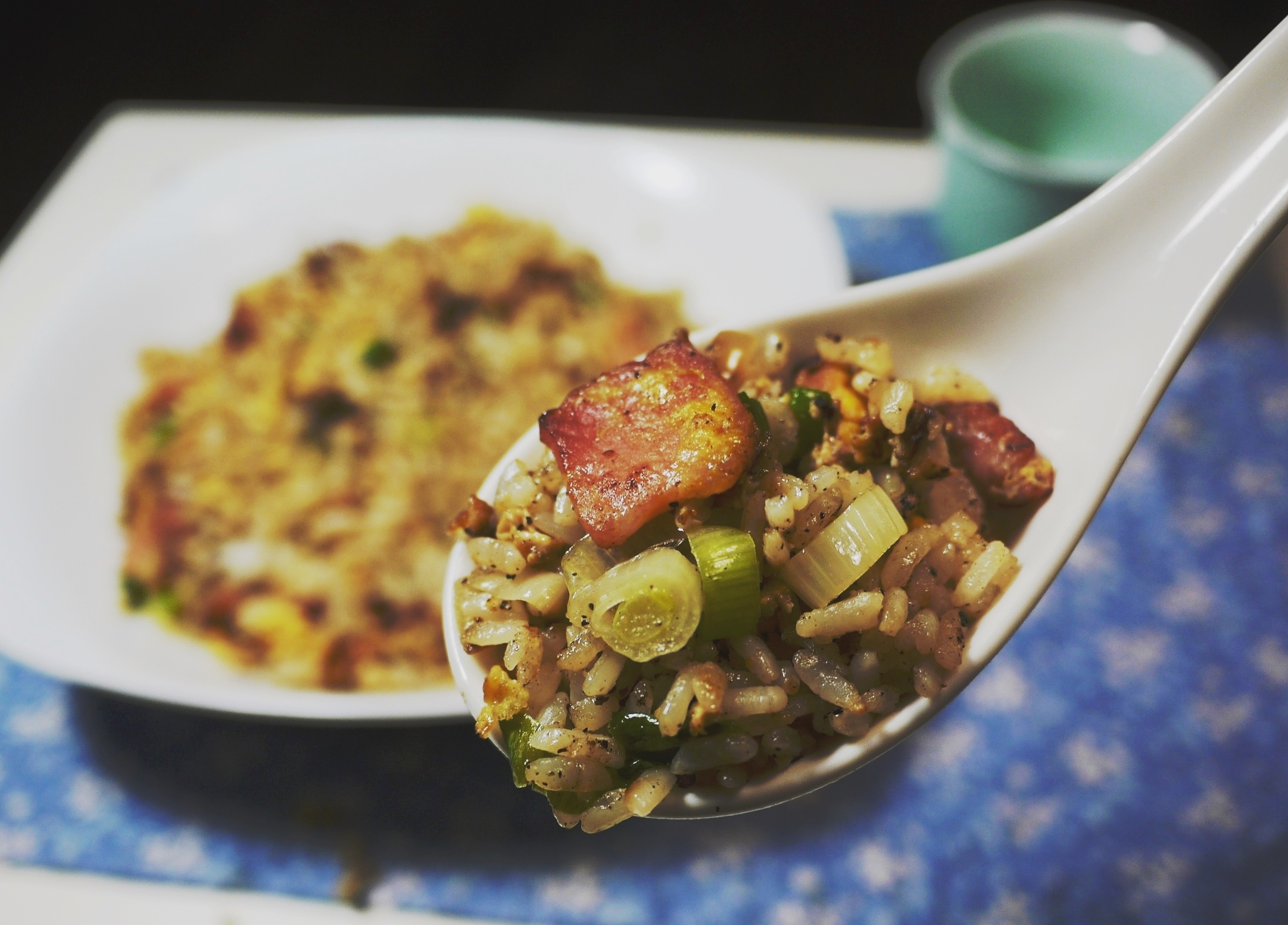 Asian style bacon and egg fried rice recipes easy chinese recipes forumfinder Images